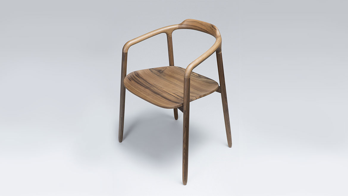 fg2 - chaise - noyer